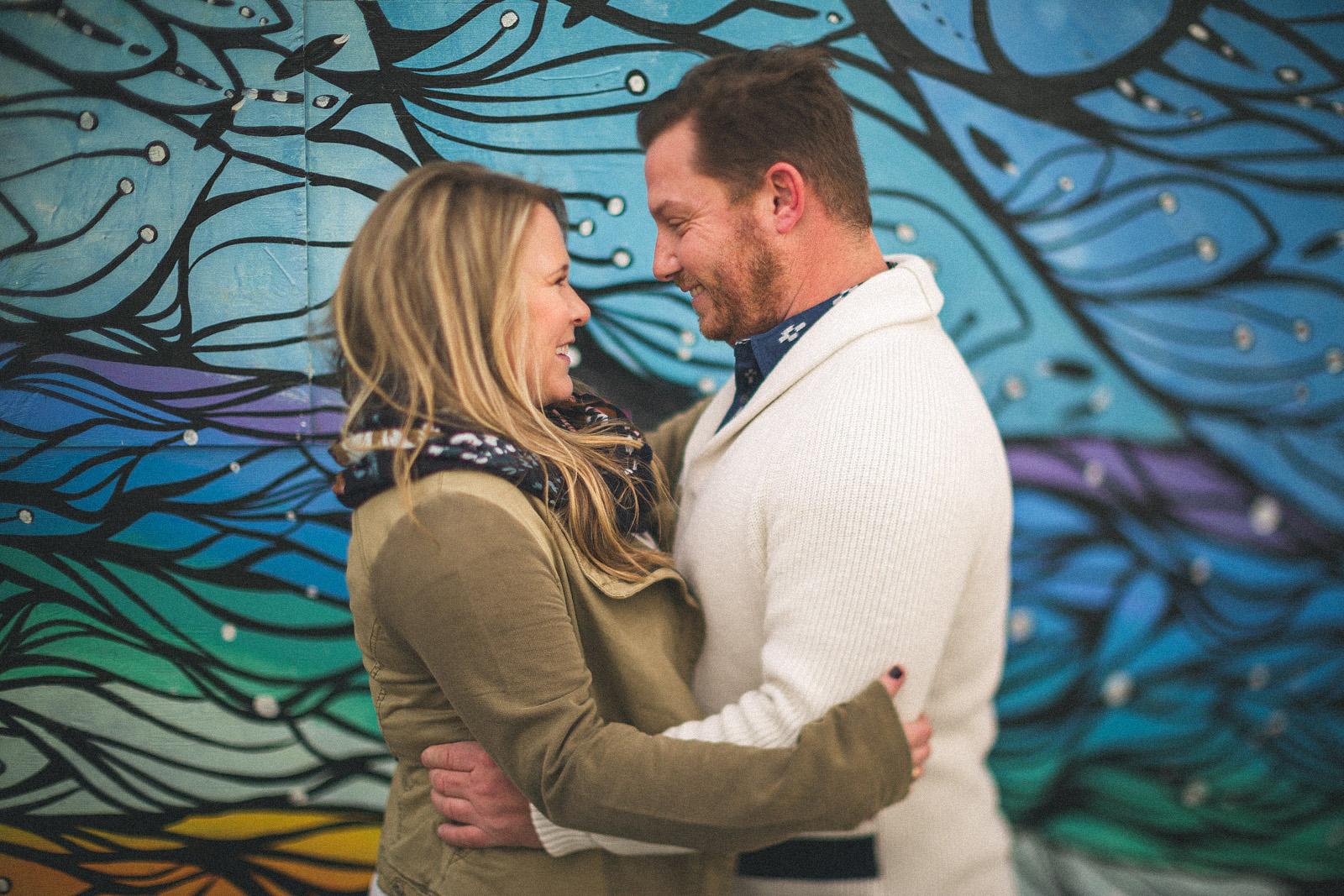 Art Engagement Photos
