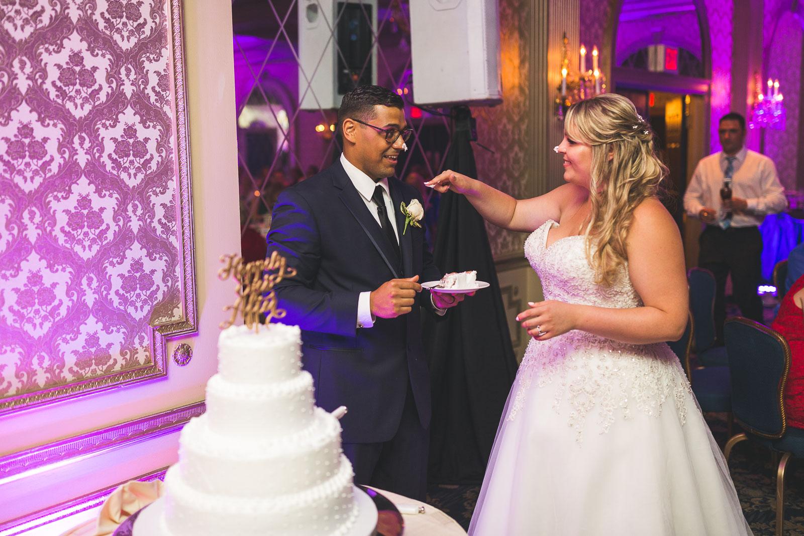Night Photography Madison Hotel Wedding