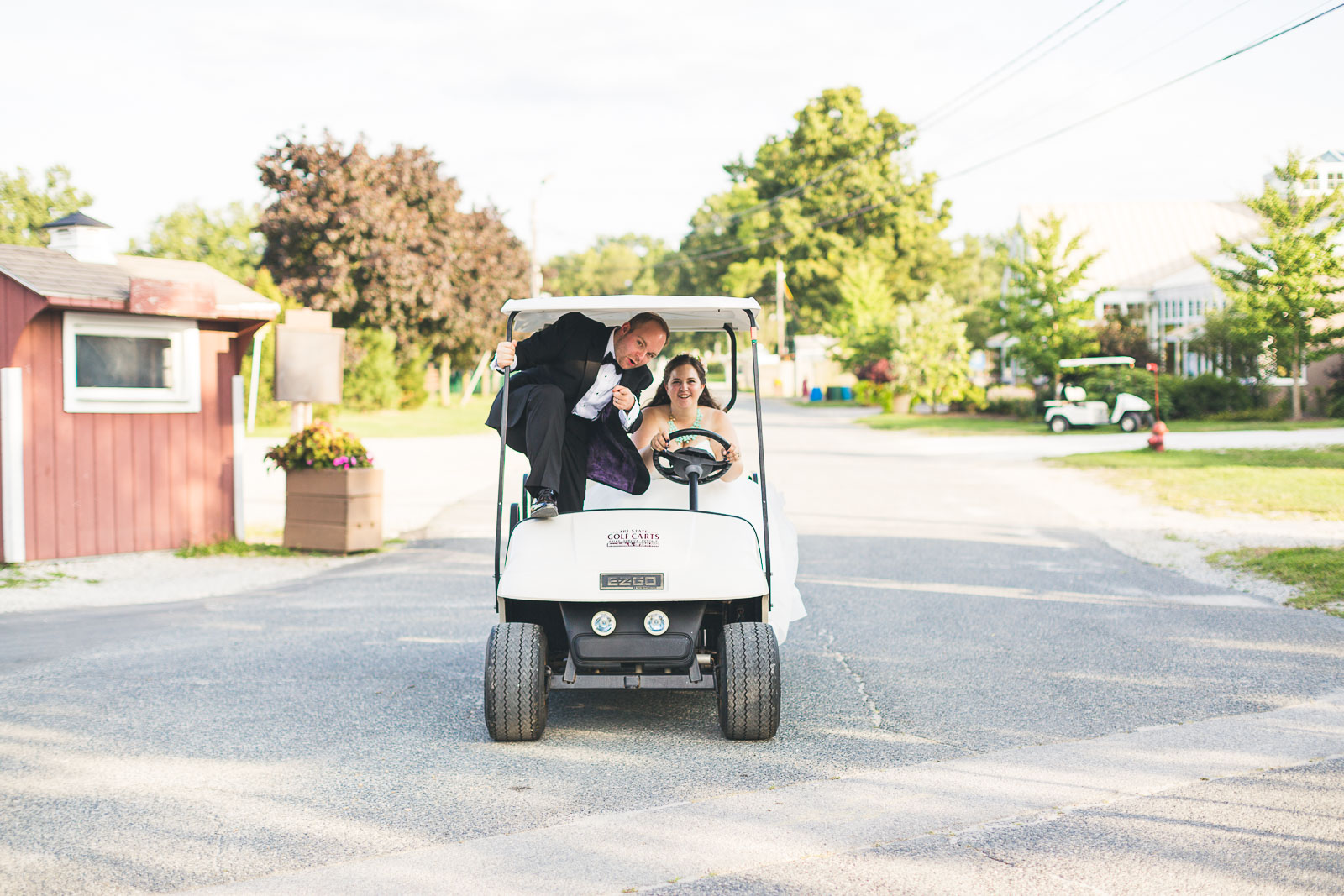 Fun Sussex Conservatory Wedding Photography