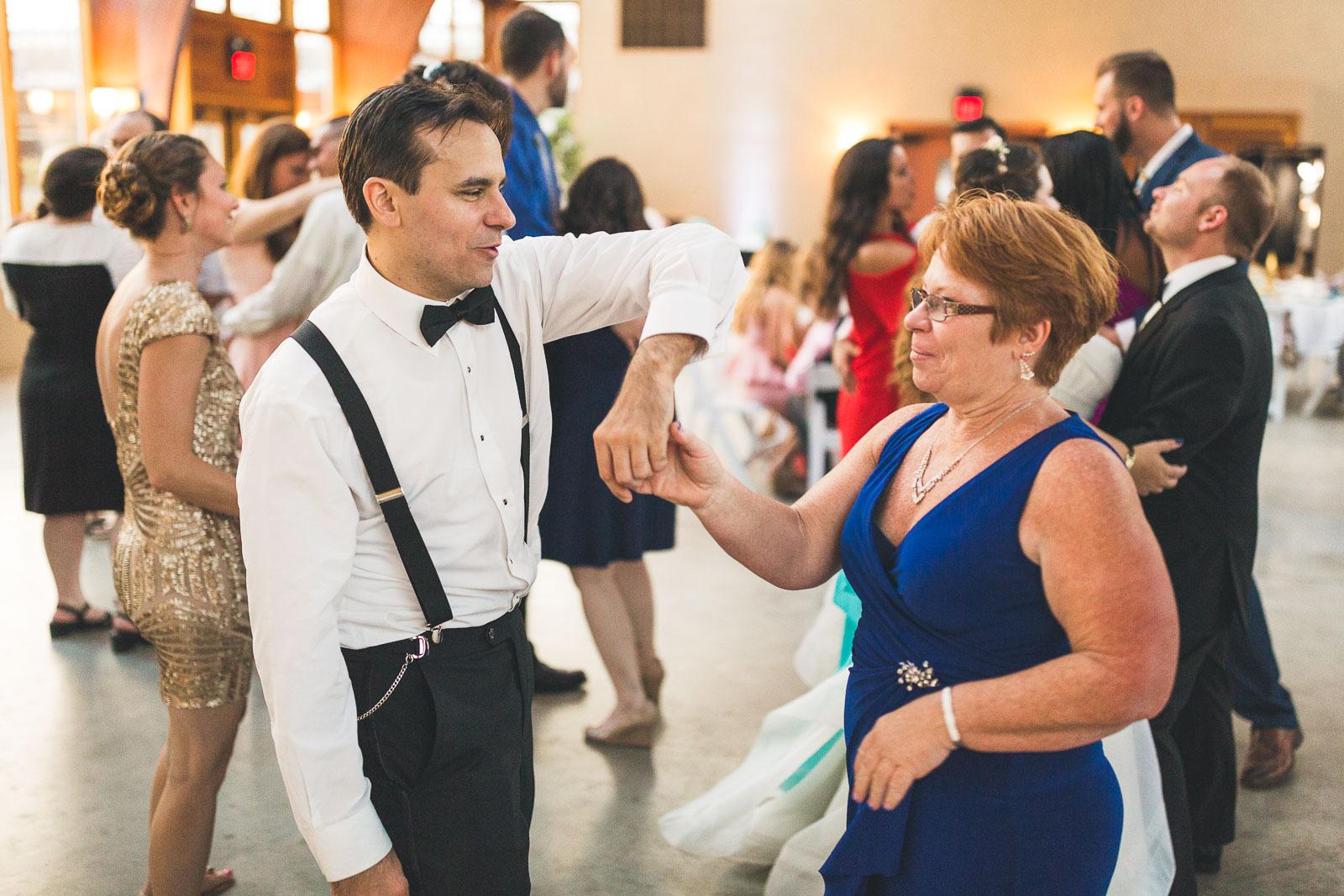 Mom dances