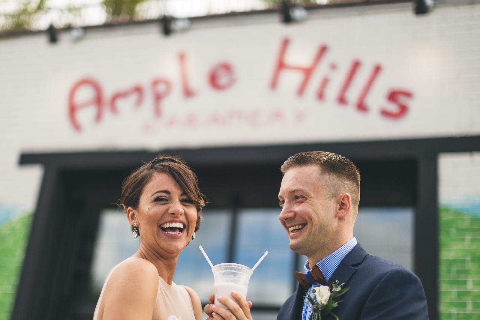 ample Hills Ice Cream Wedding