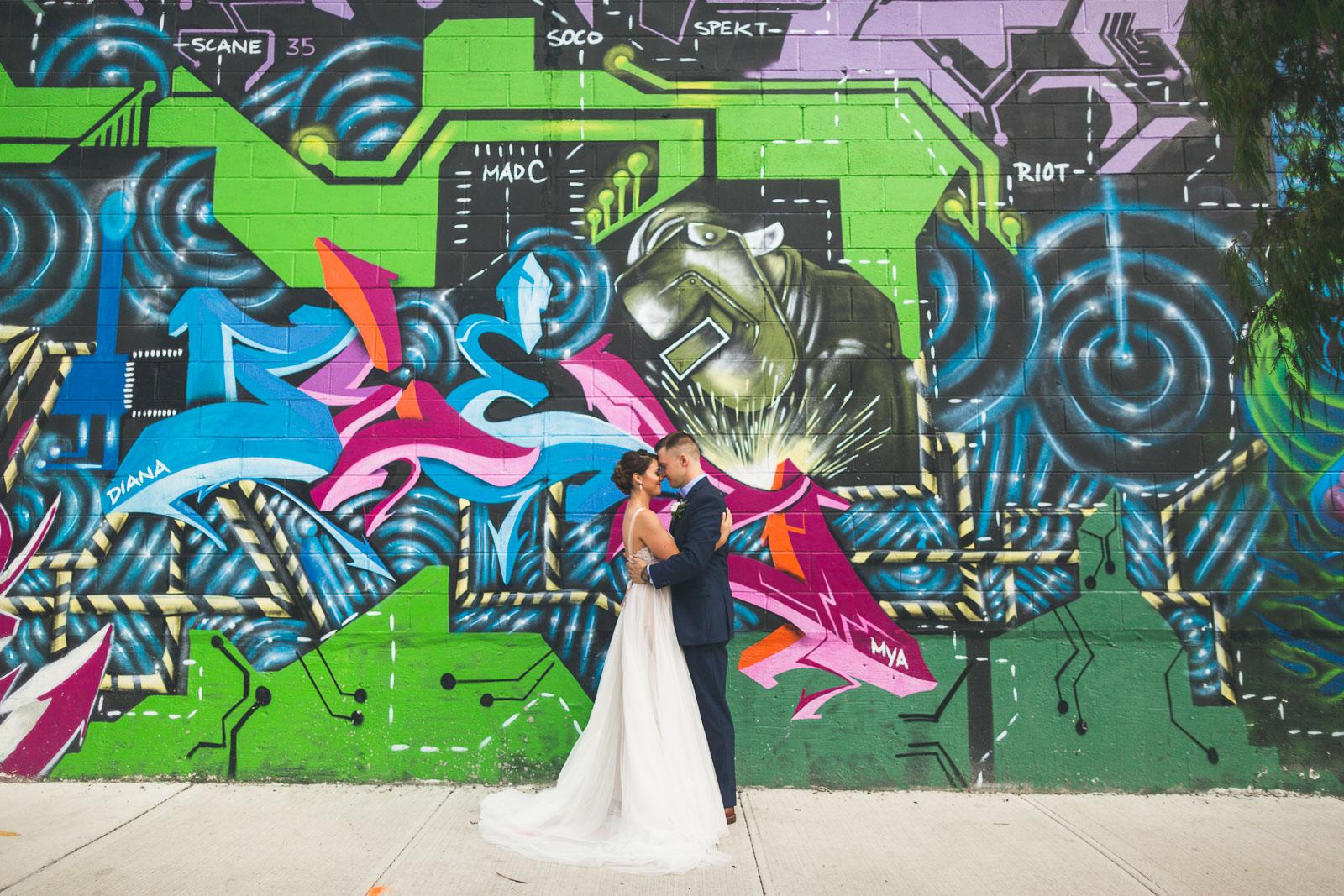 Graffiti Wedding Photos