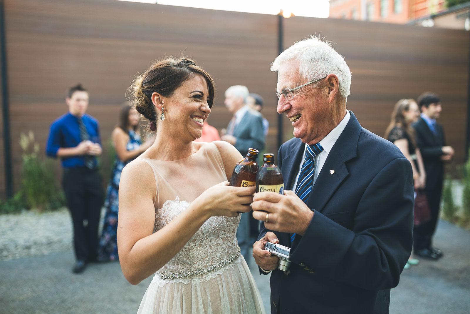 Cheers with Grandpa