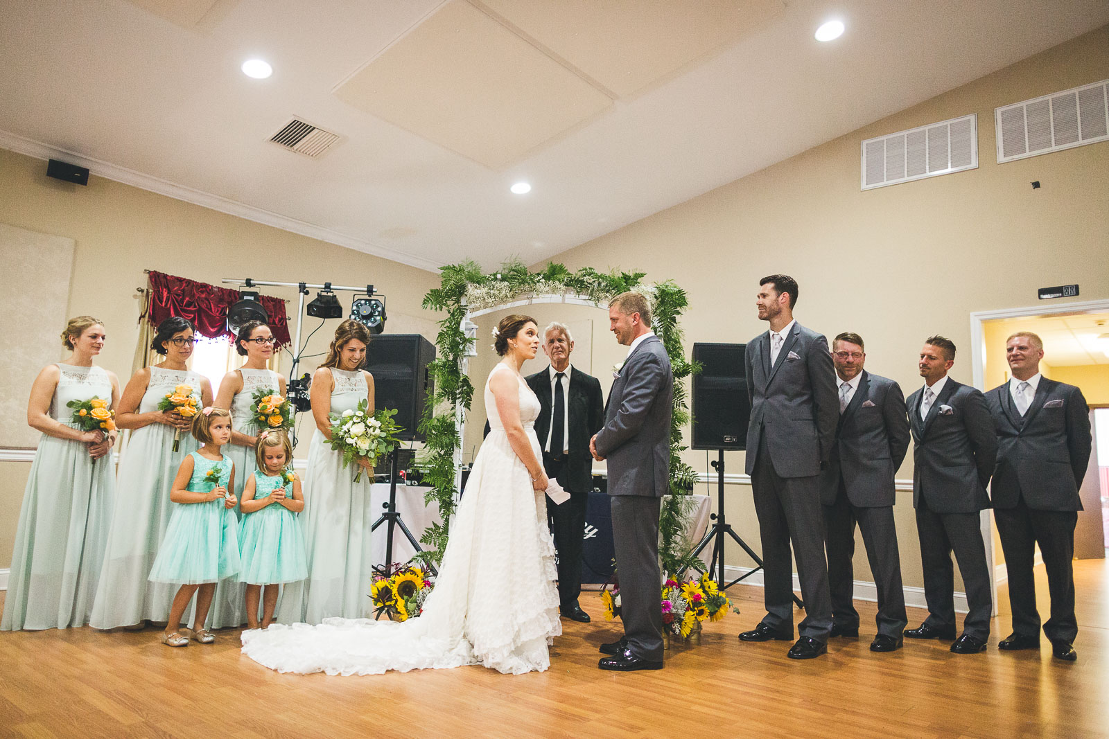 Independence Fire House Wedding