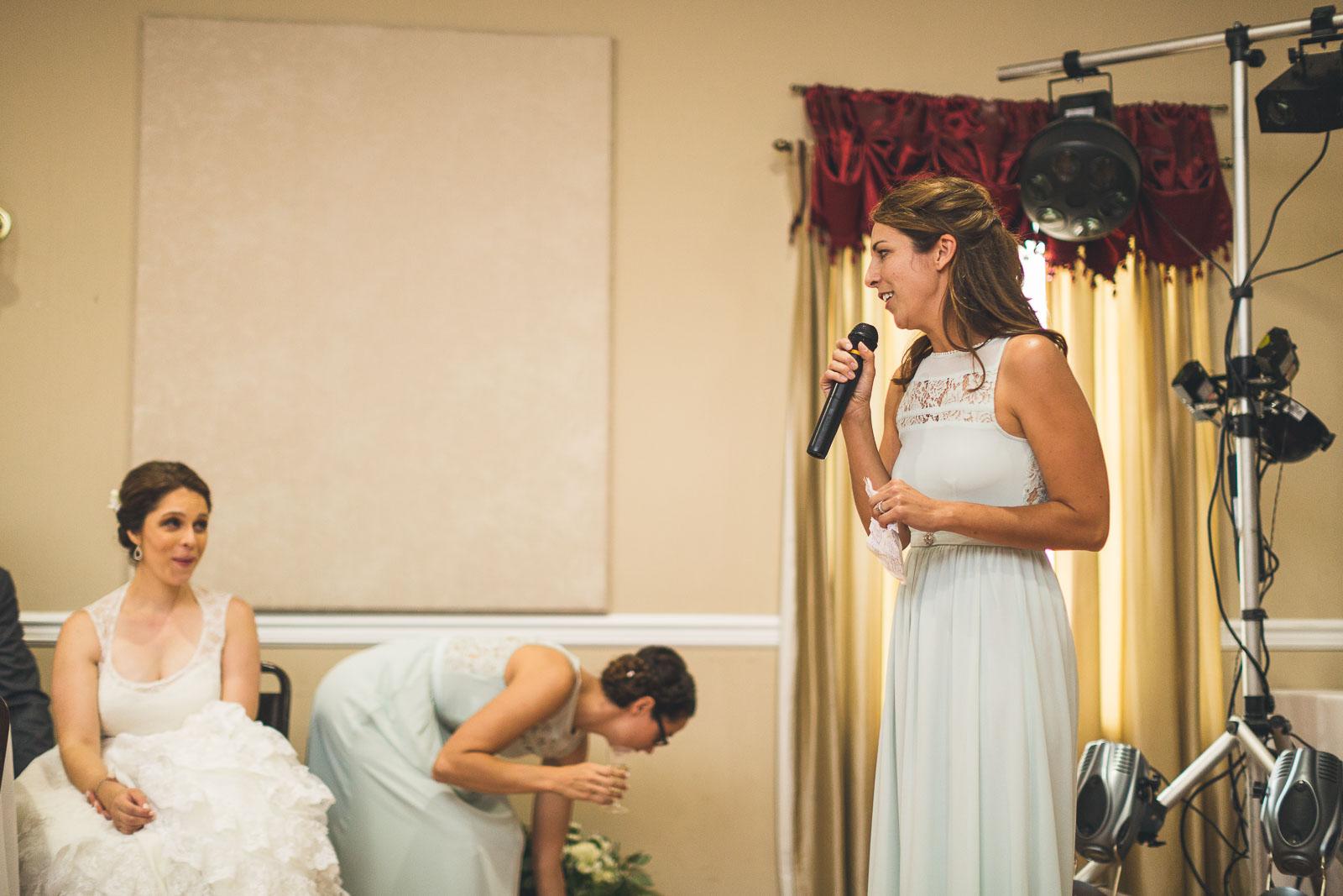 Sister gives Speech