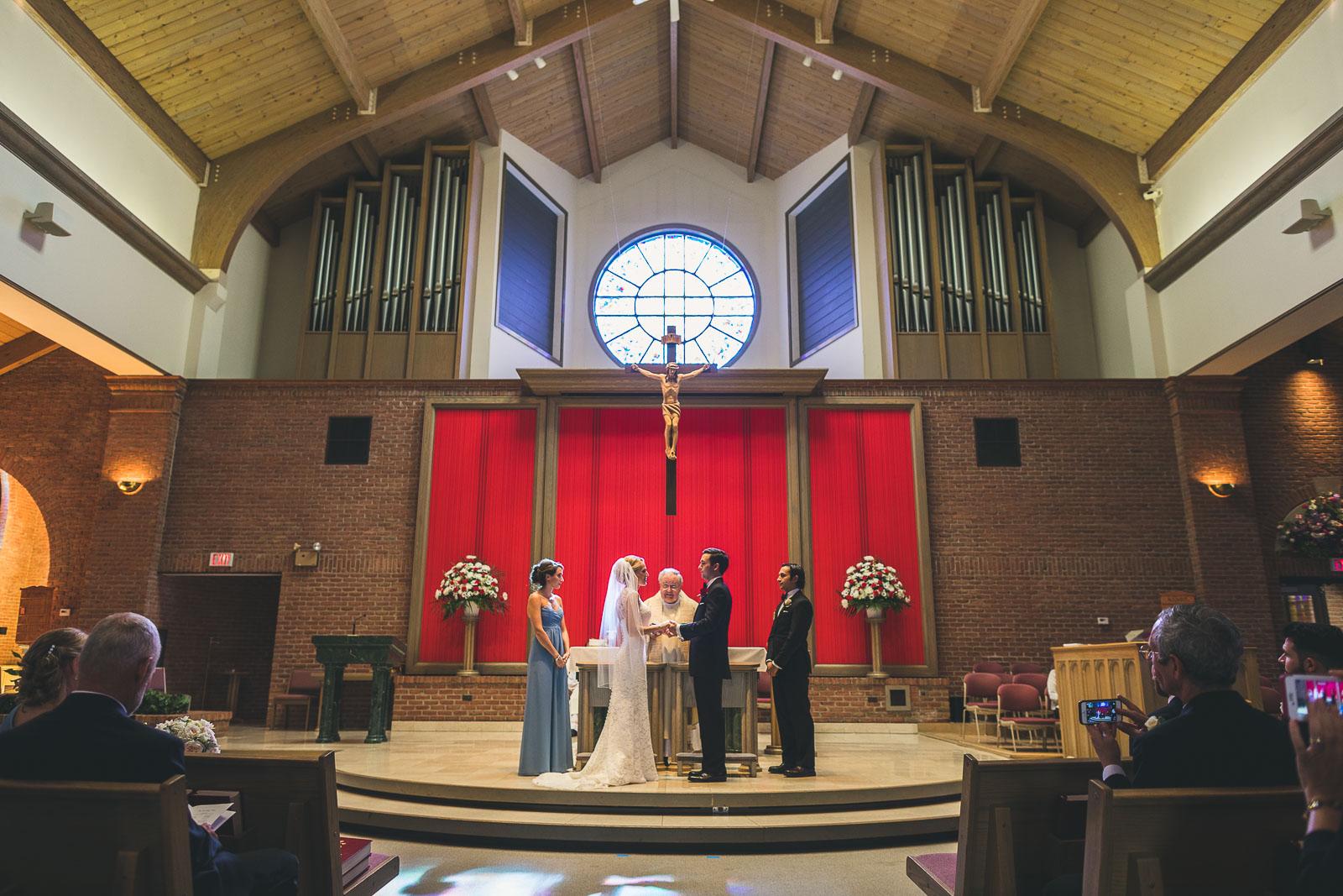 Corpus Christi Church Wedding Chatham NJ