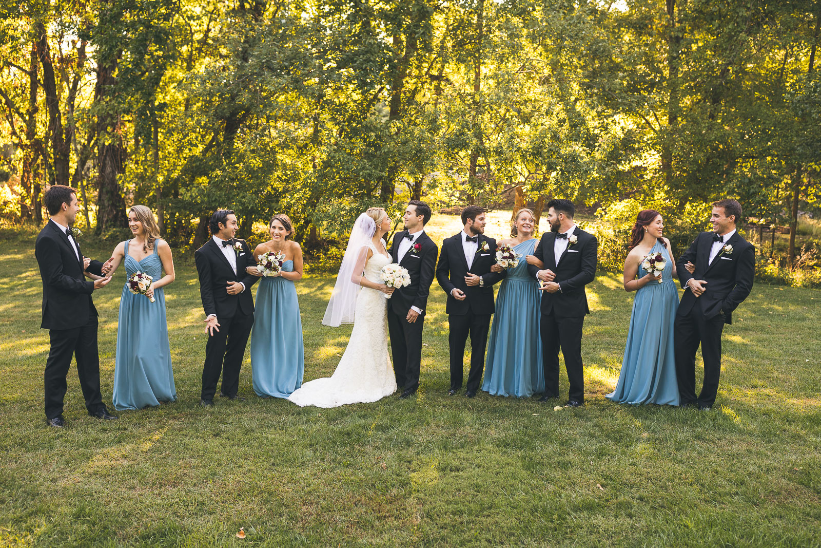 Wedding Party Brooklake Country Club