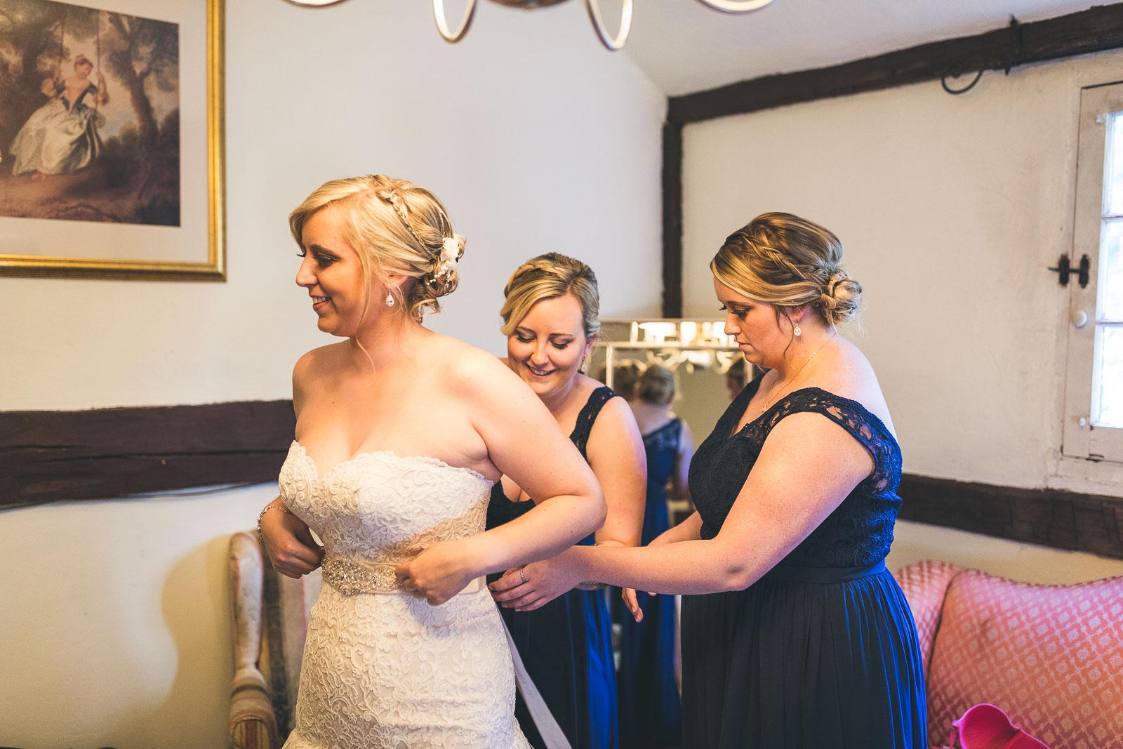 Bride FInishing Touches