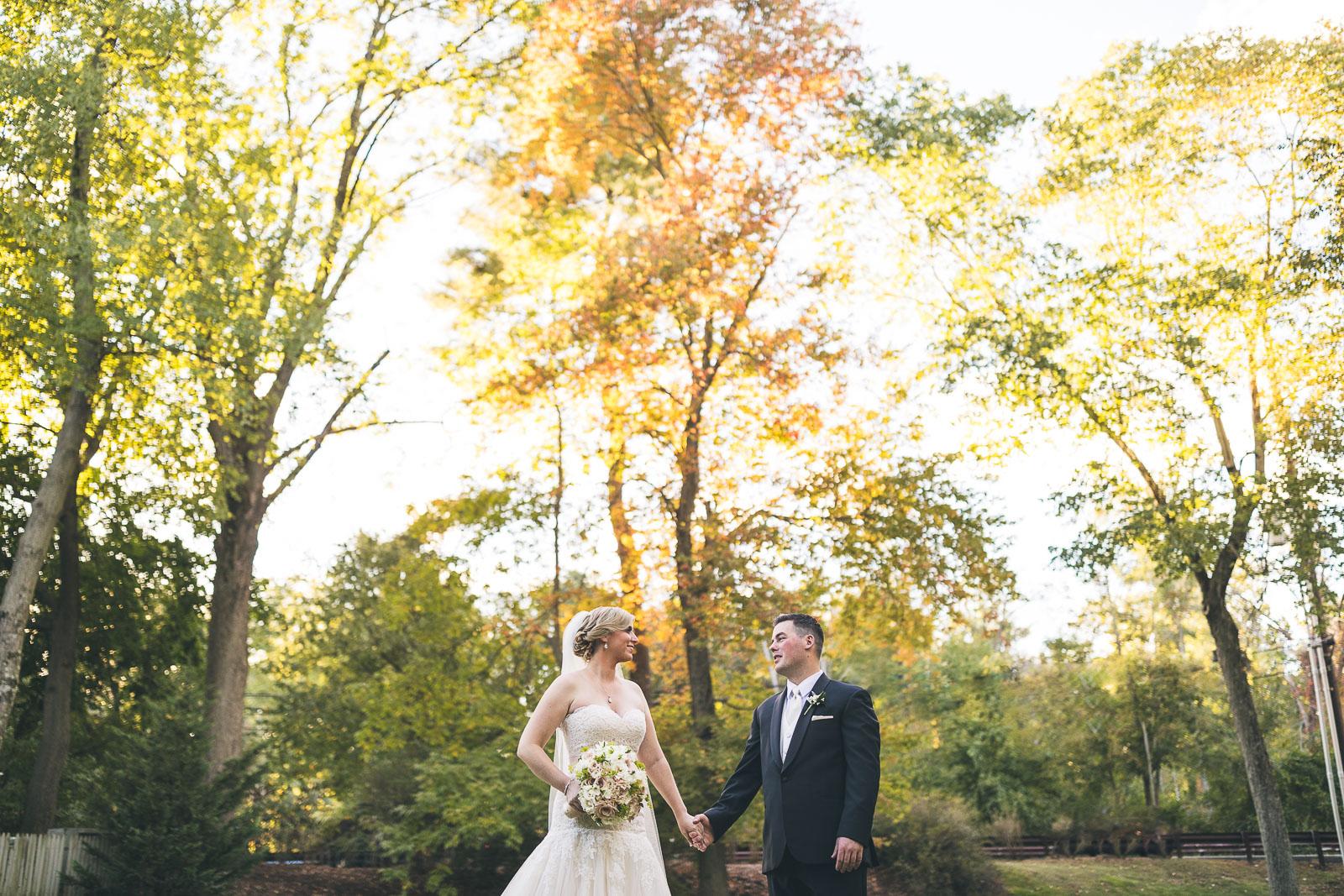 Autumn Wedding at The Grain House