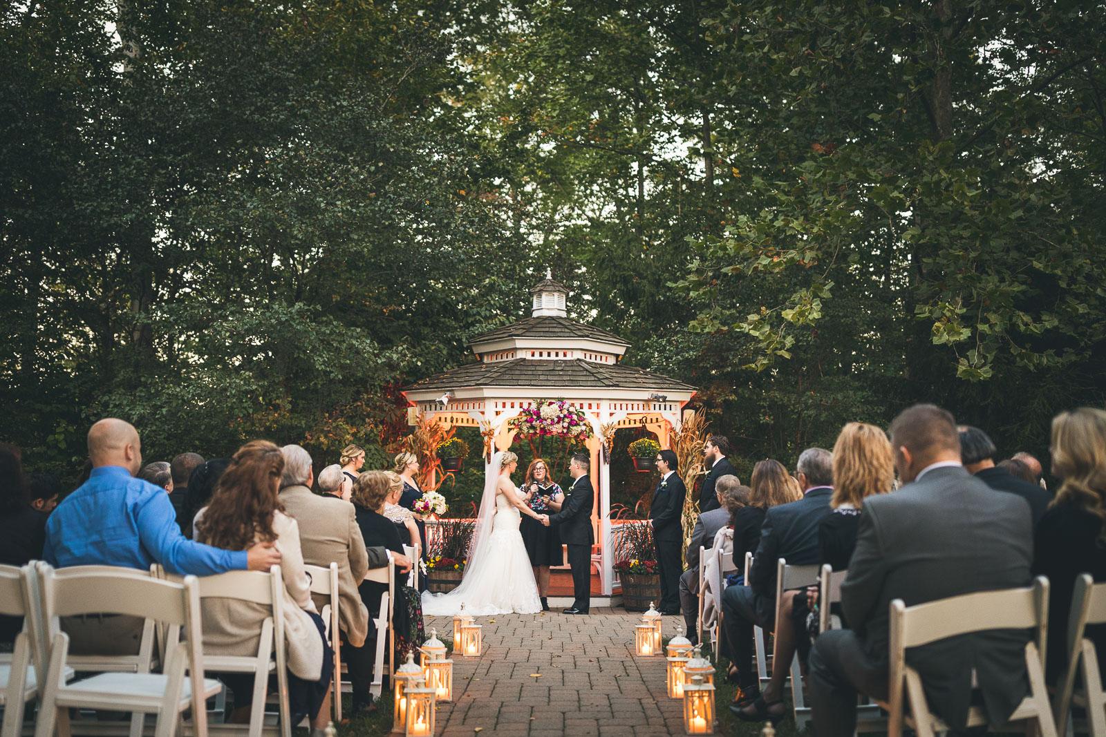 Wedding Ceremony The Grain House Olde Mill Inn