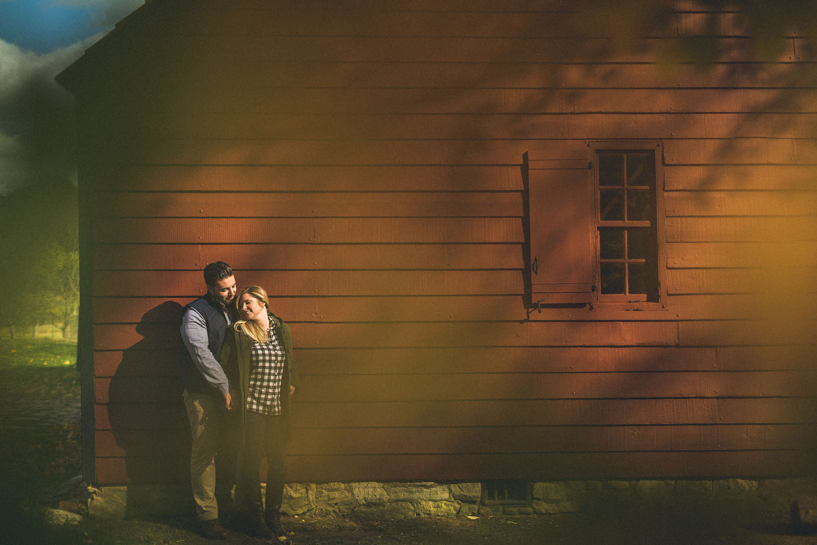 Old Barn Engagement Photos