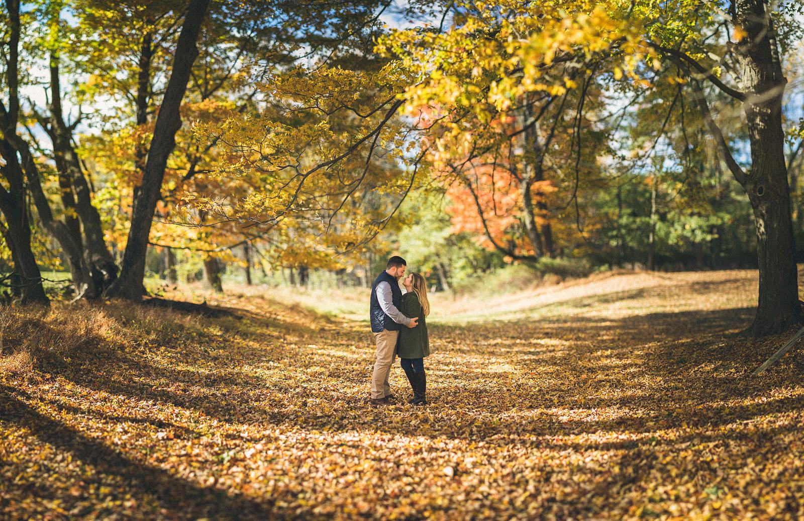 Jockey Hollow Engagement Photography