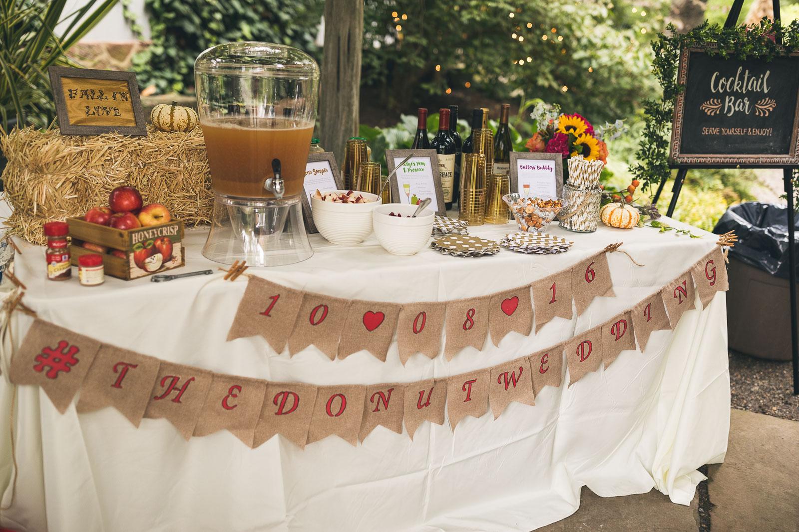 The Donut Wedding