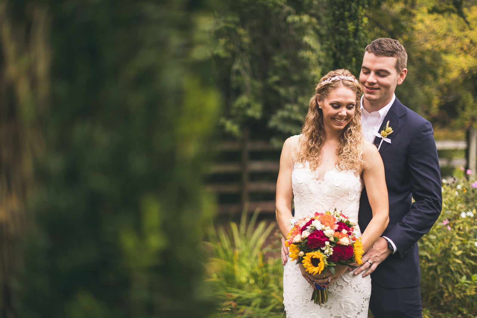 Willowwood Arboretum Wedding Portraits