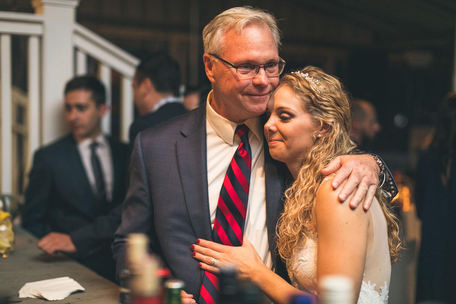 Gladstone Tavern Wedding Father and Bride
