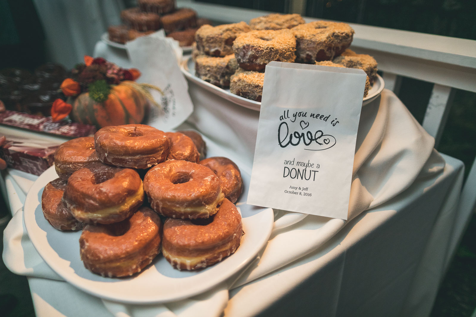 Wedding Donuts with Love