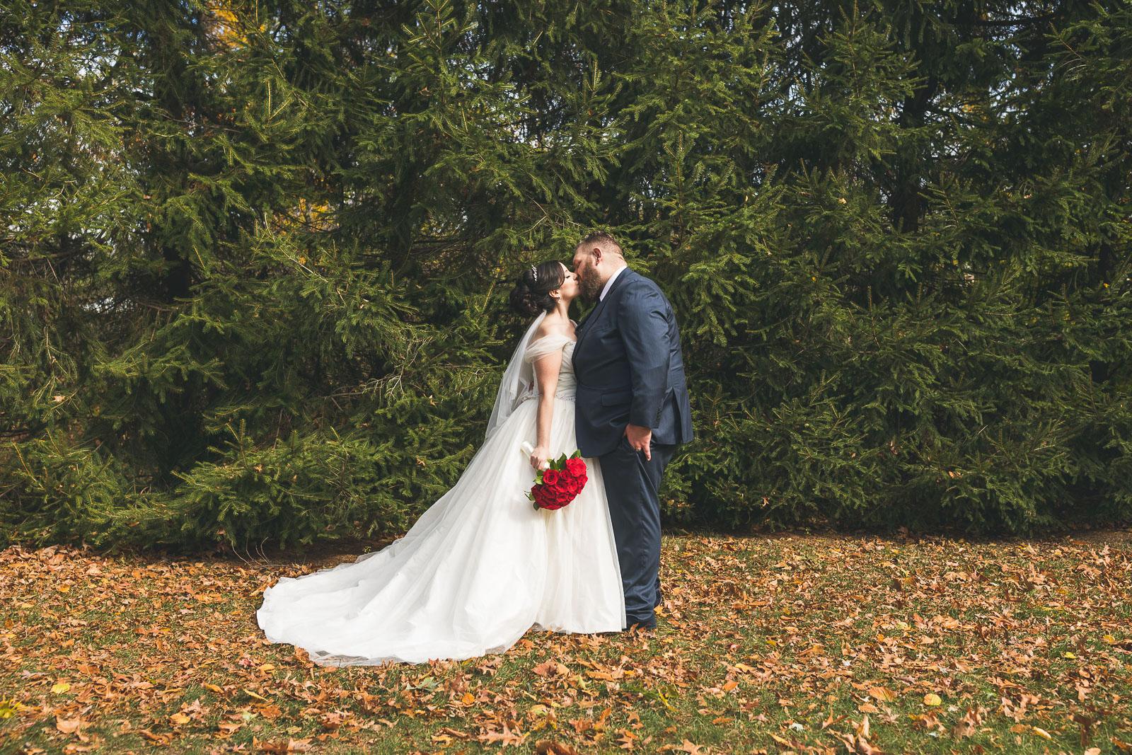 Grain House Wedding Portrait