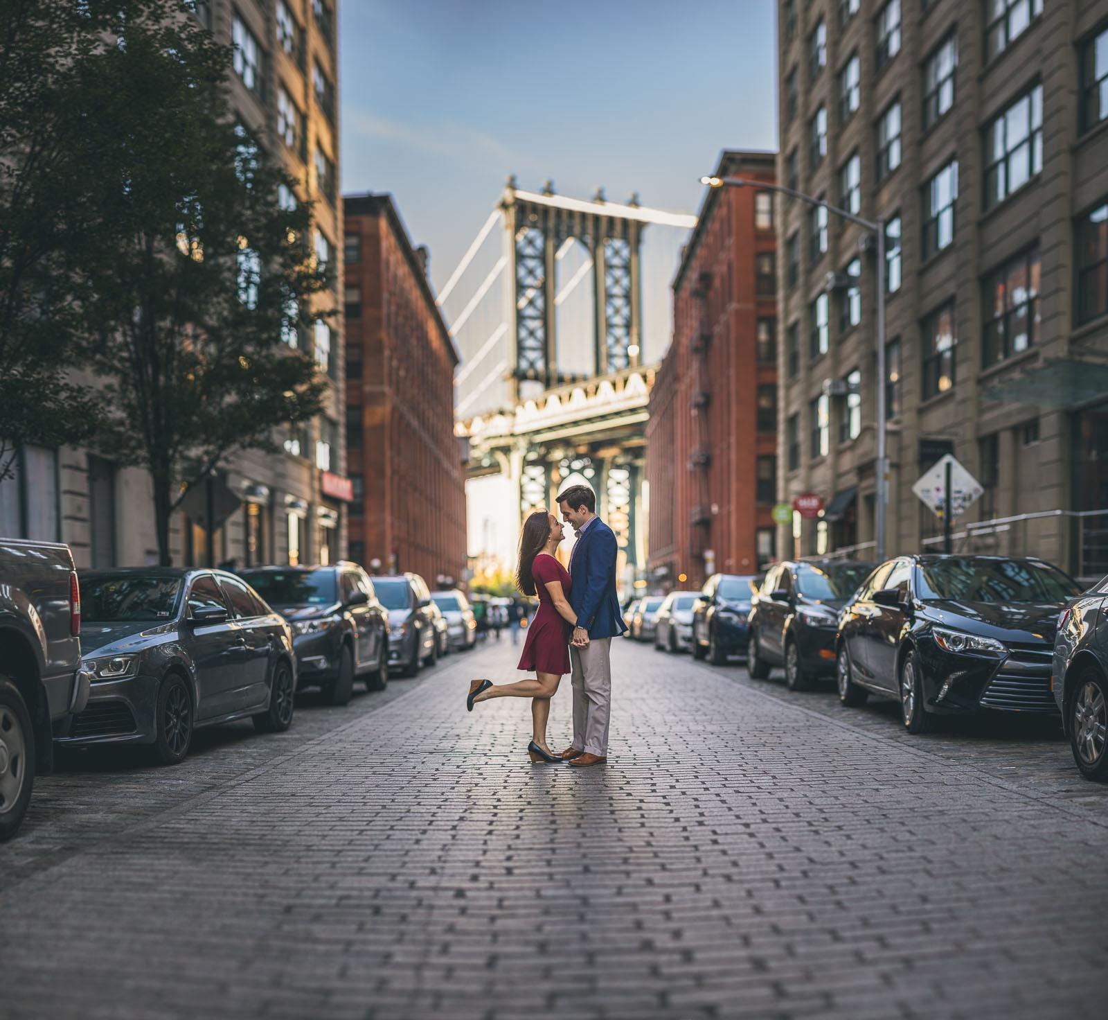Brooklyn Bridge Engagement Photography