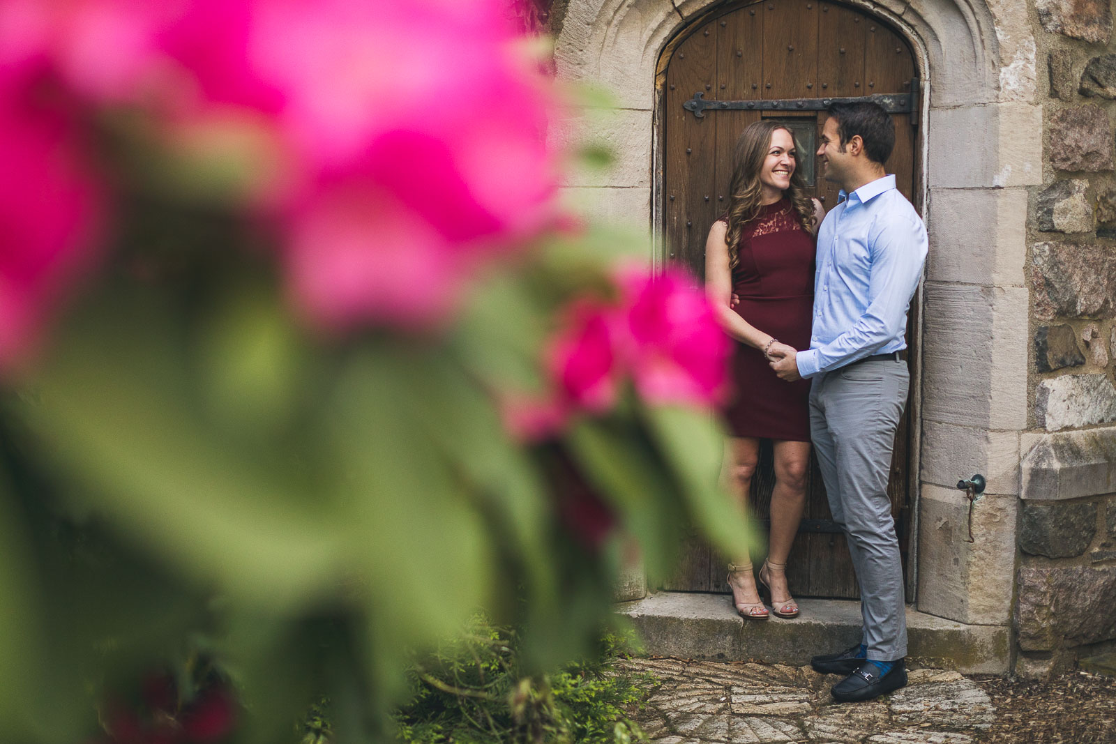 Spring Flowers Engagement