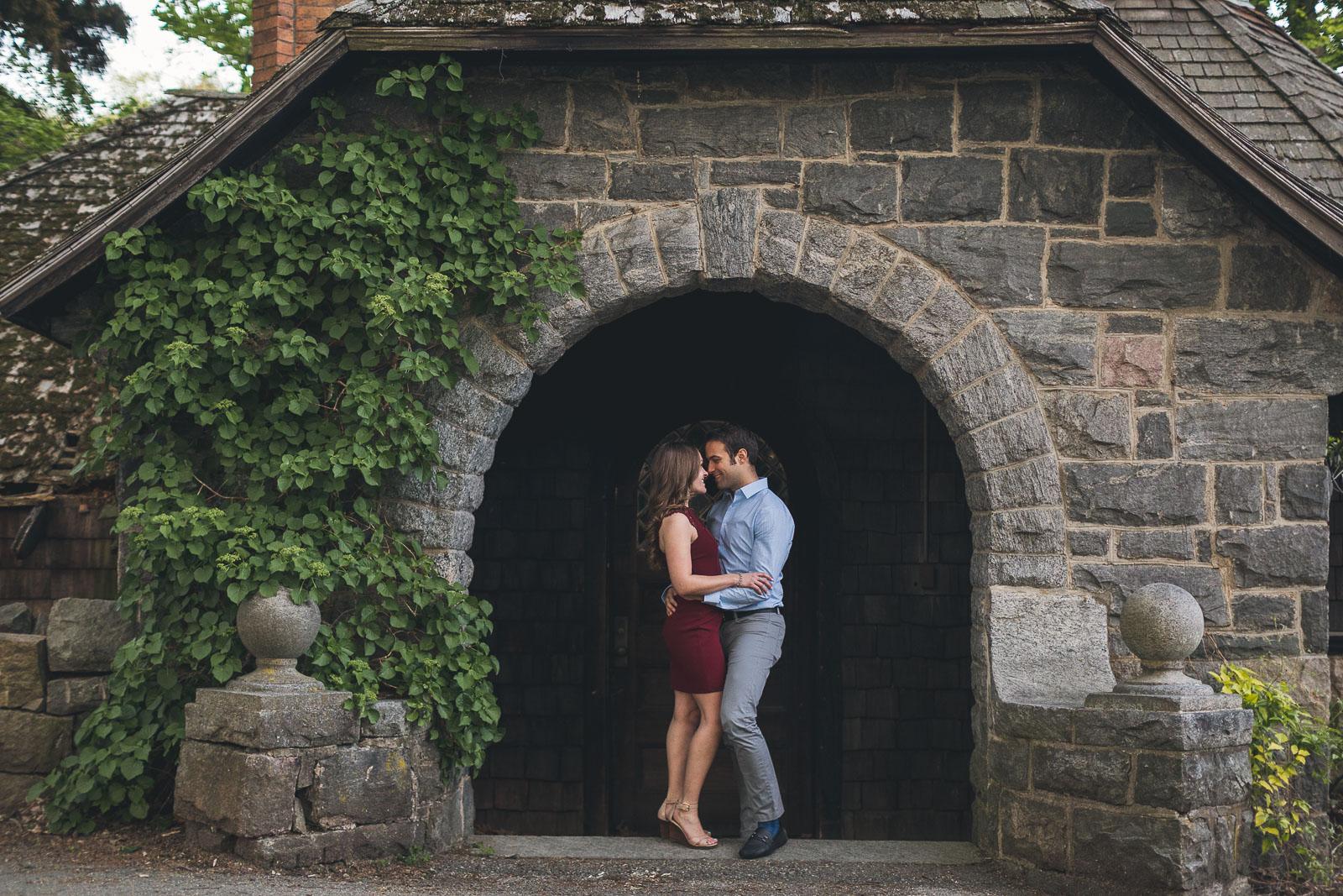 Castle Engagement Photo