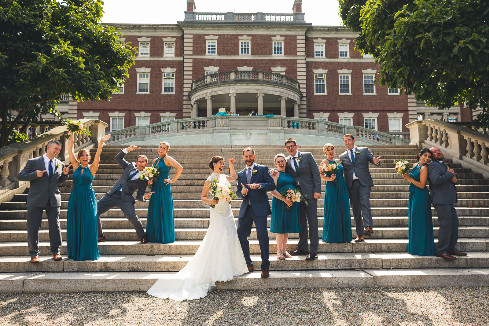 Wedding Party Fairleigh Dickinson University