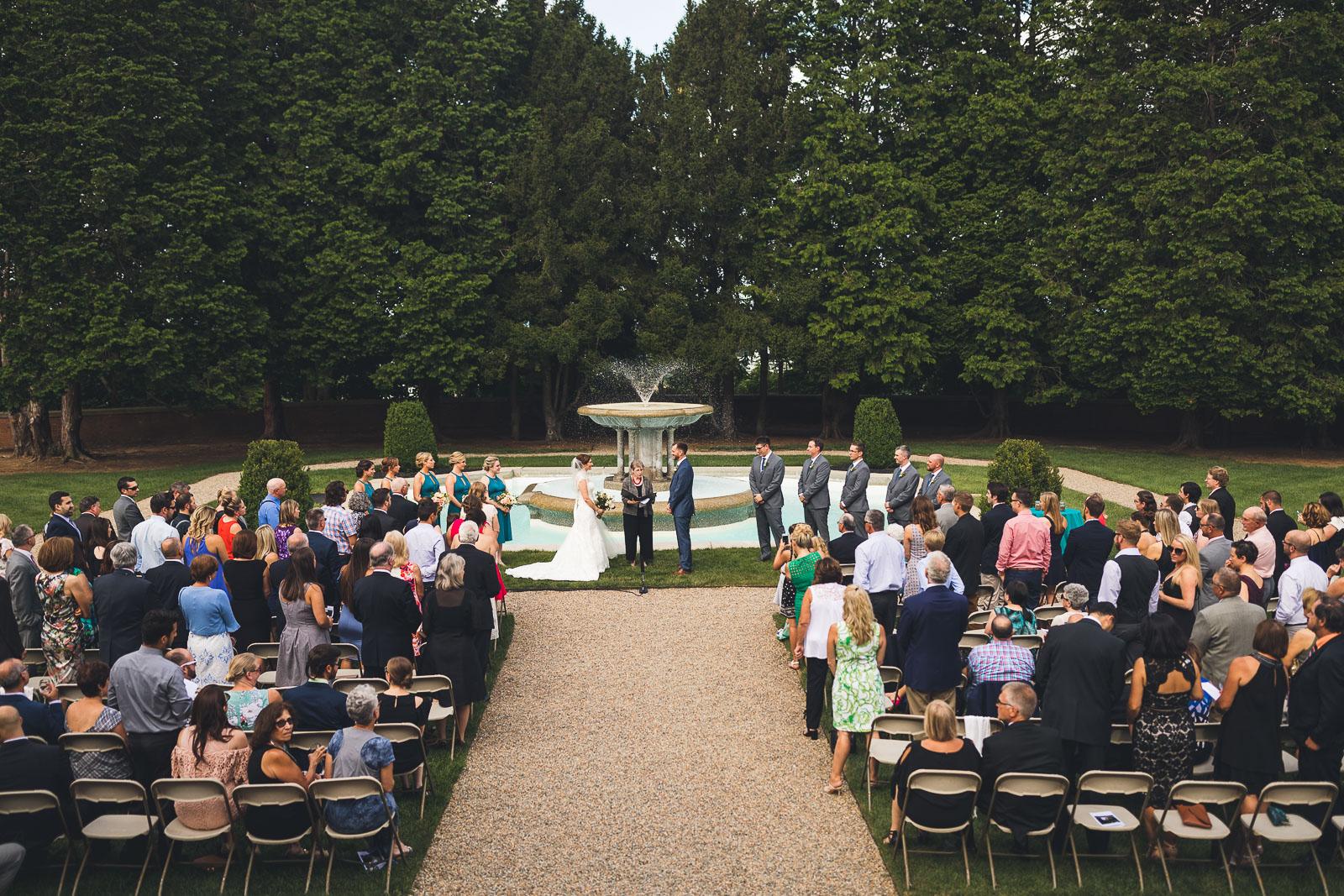 Wedding Ceremony Fairleigh Dickinson University