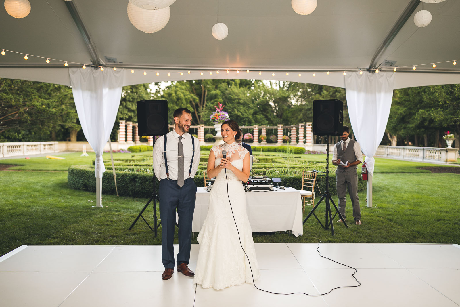Couple Gives Speech
