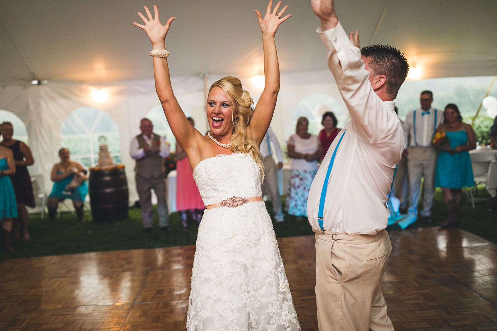 Farm Wedding Dance New Jersey