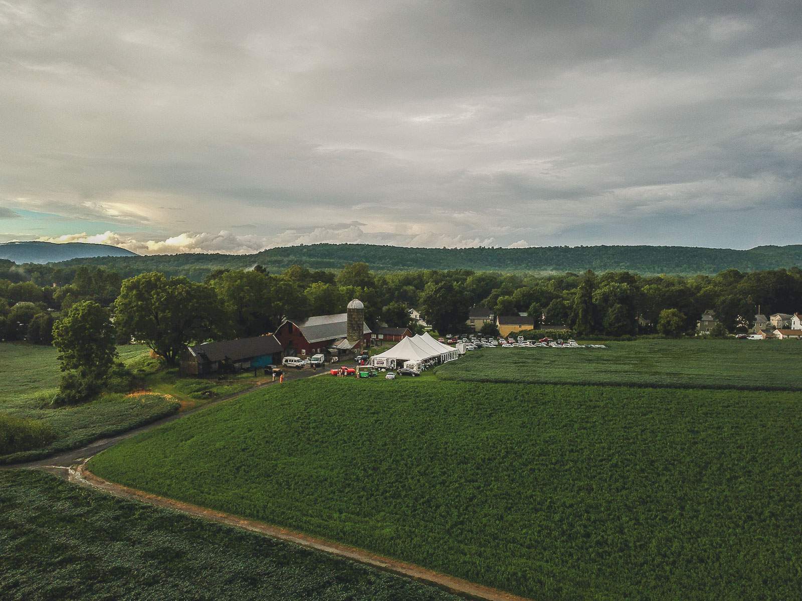 Great Meadows NJ Farm Wedding