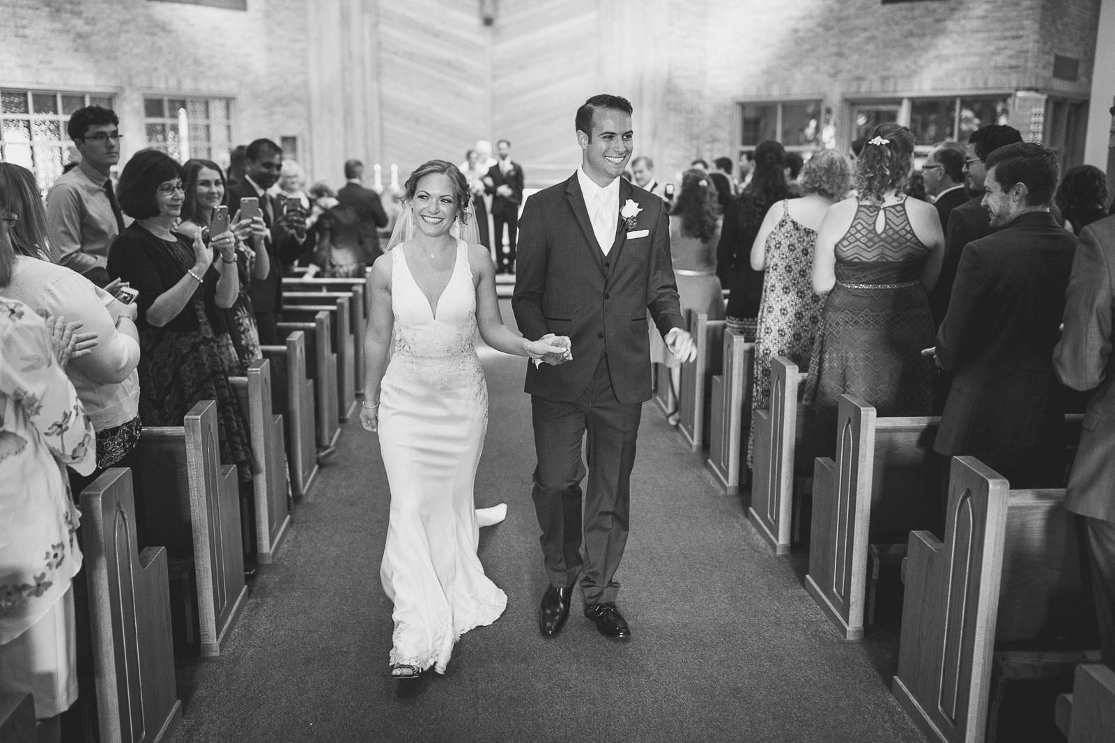 Wedding Ceremony St Jude Parish Budd Lake New Jersey