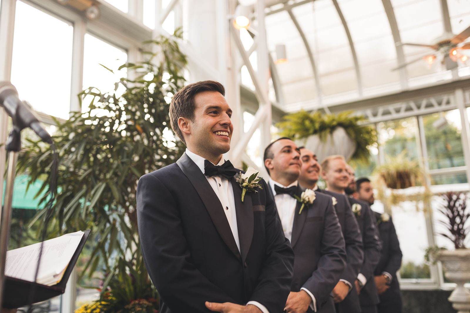 Madison Hotel Conservatory Wedding