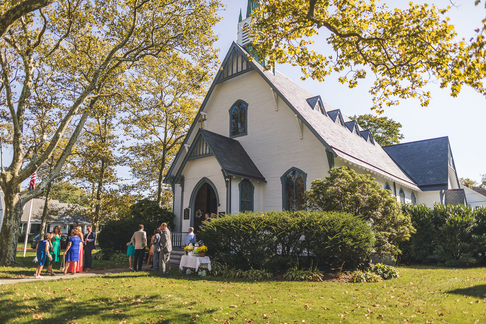 Holy Trinity Episcopal Church Spring Lake, NJ Wedding