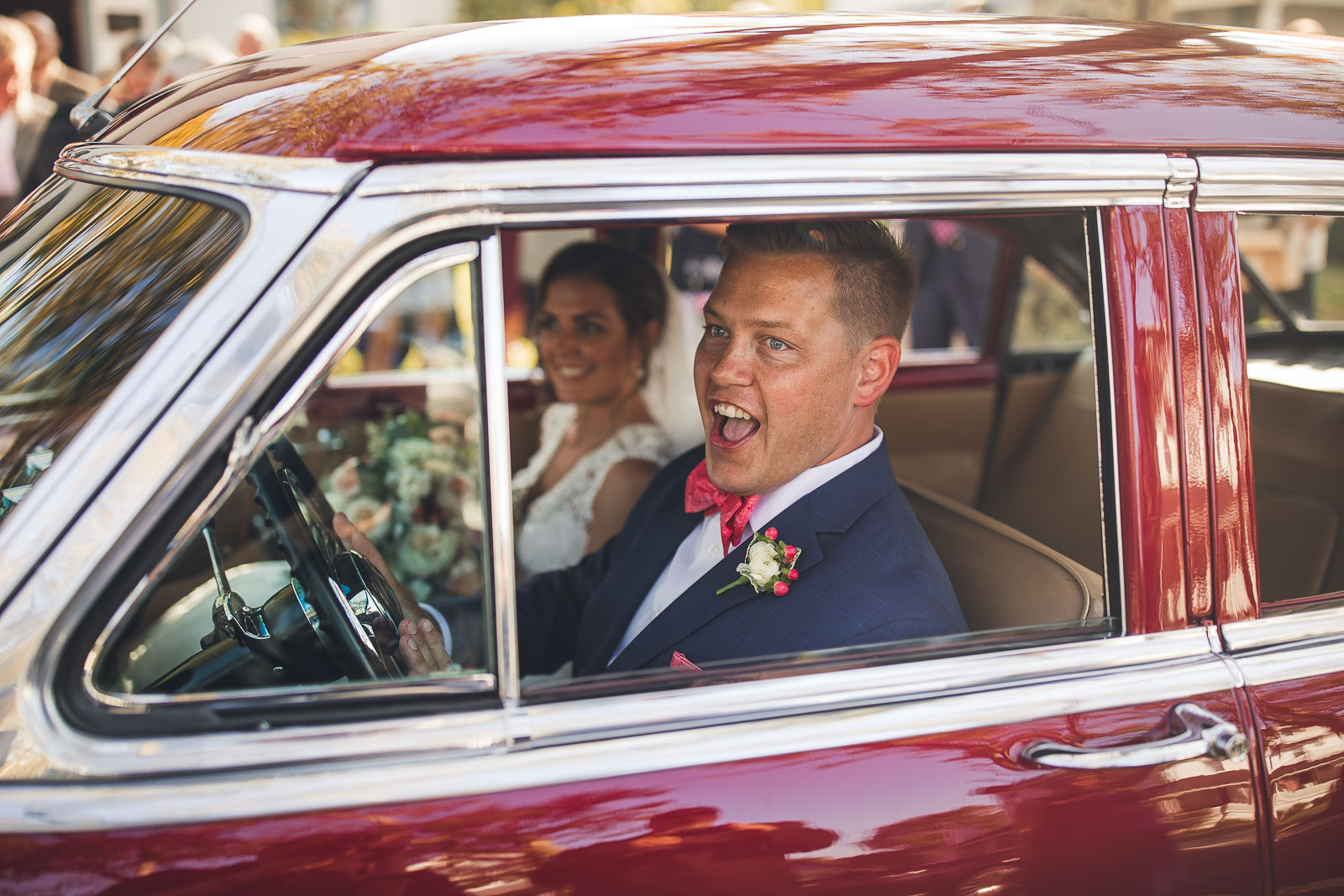 Wedding Days and Classic Cars