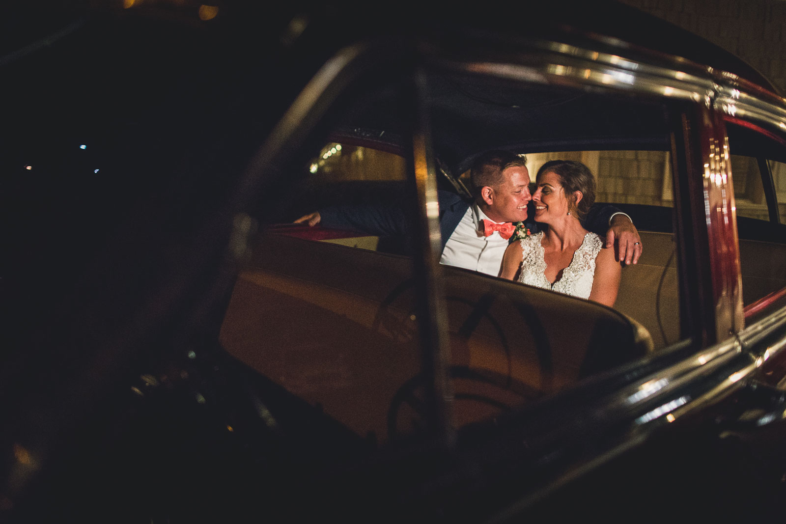 Night Time Wedding Portraits Spring Lake Bath & Tennis Club