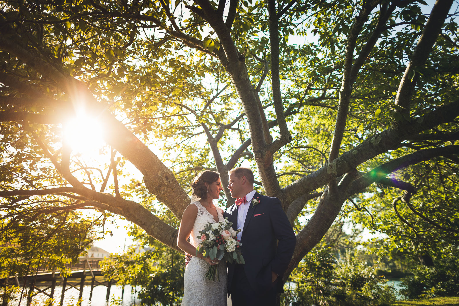 Spring Lake Wedding Portraits