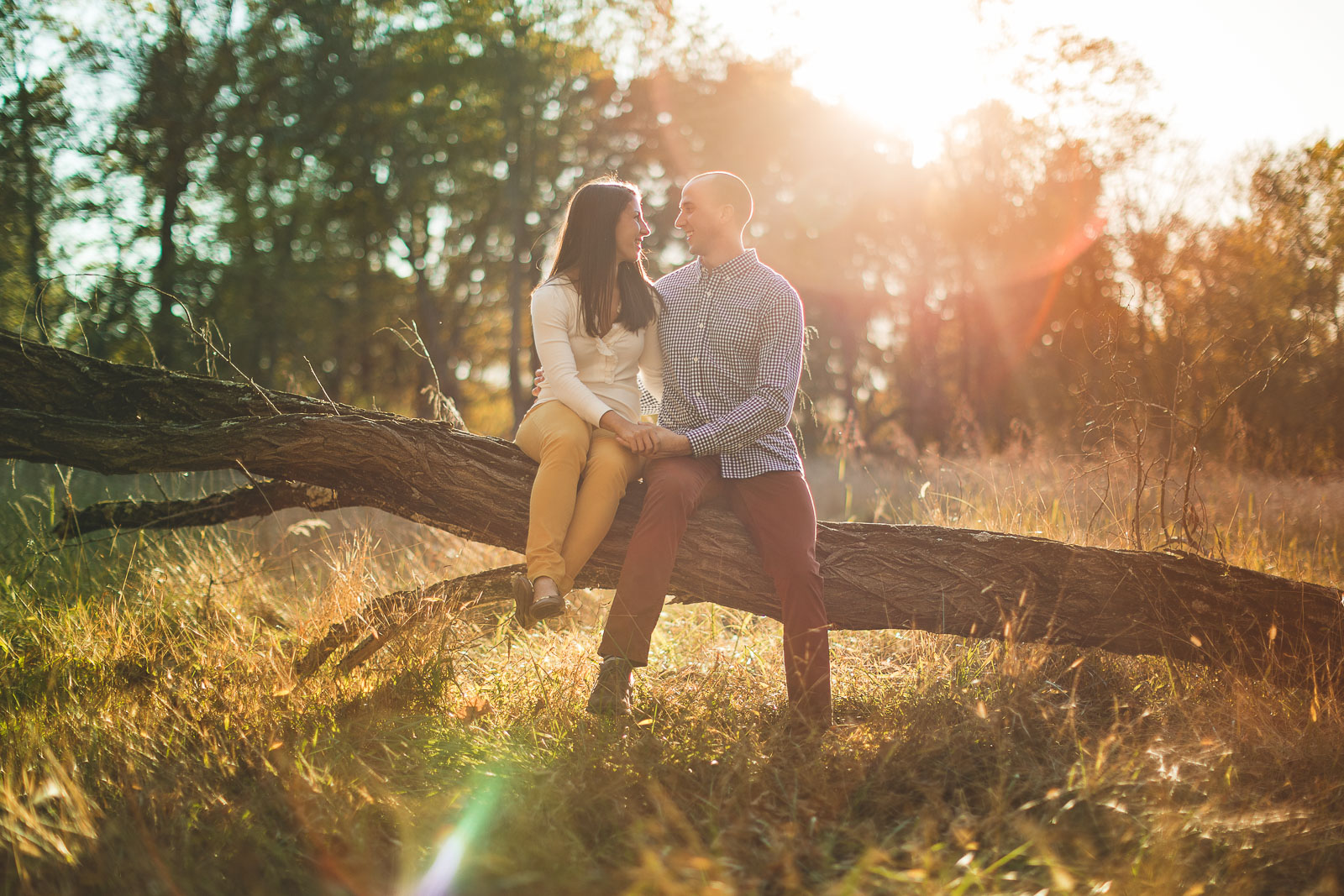 Jockey Hollow Engagement Photos