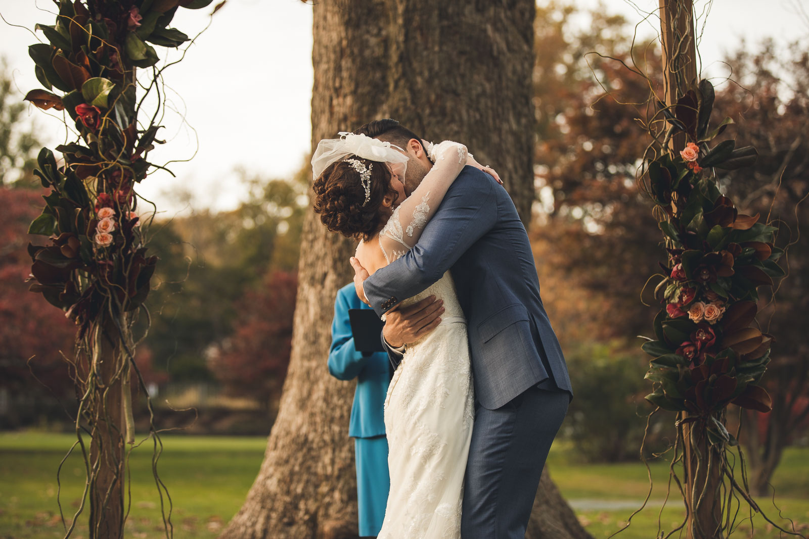 First Kiss Wedding Photography