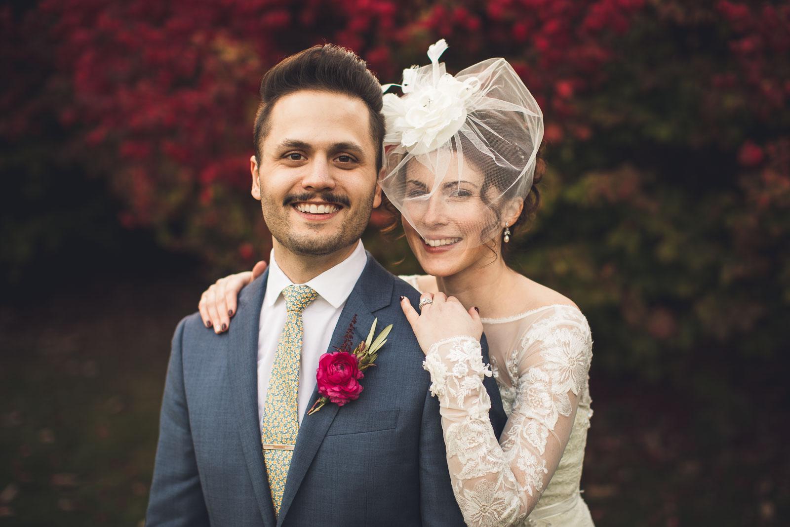Elegant Wedding Portrait Orange Lawn Tennis Club