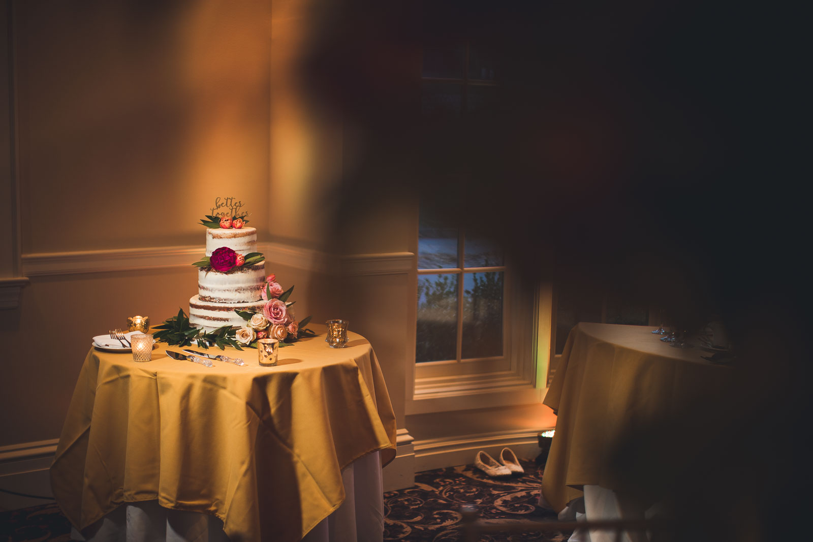Wedding Cake Orange Lawn Tennis Club