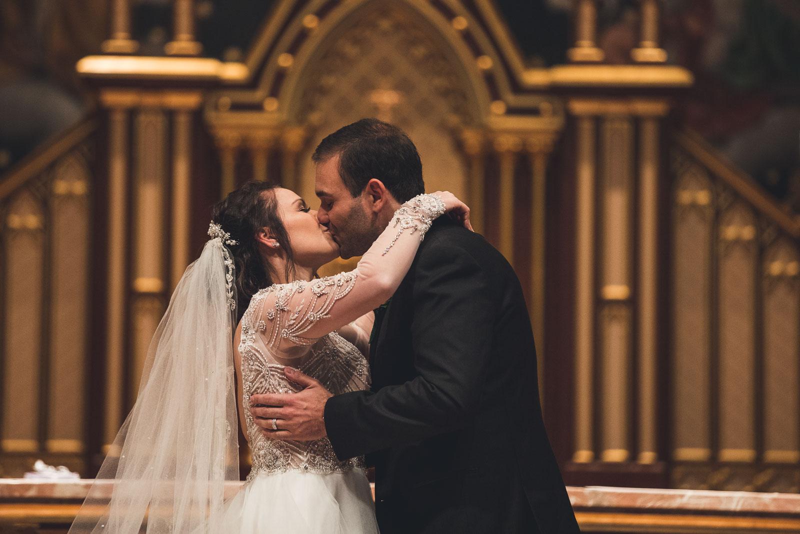 Seton Hall Chapel First Kiss