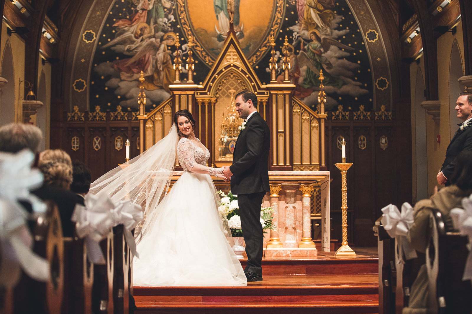 Seton Hall Chapel Wedding