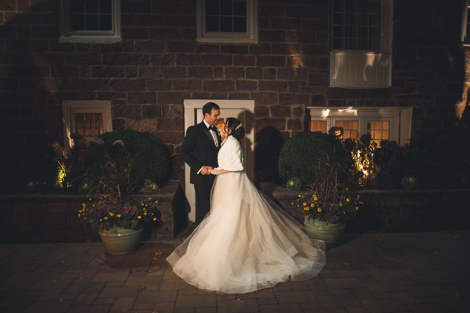The Grove Night Time Wedding Photogrpahy