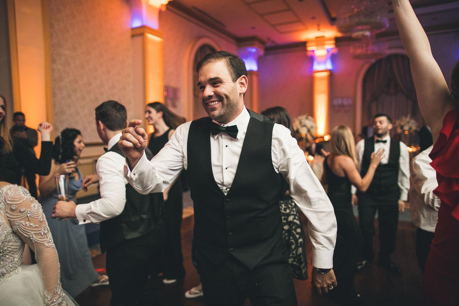 Groom Dances Wedding The Grove
