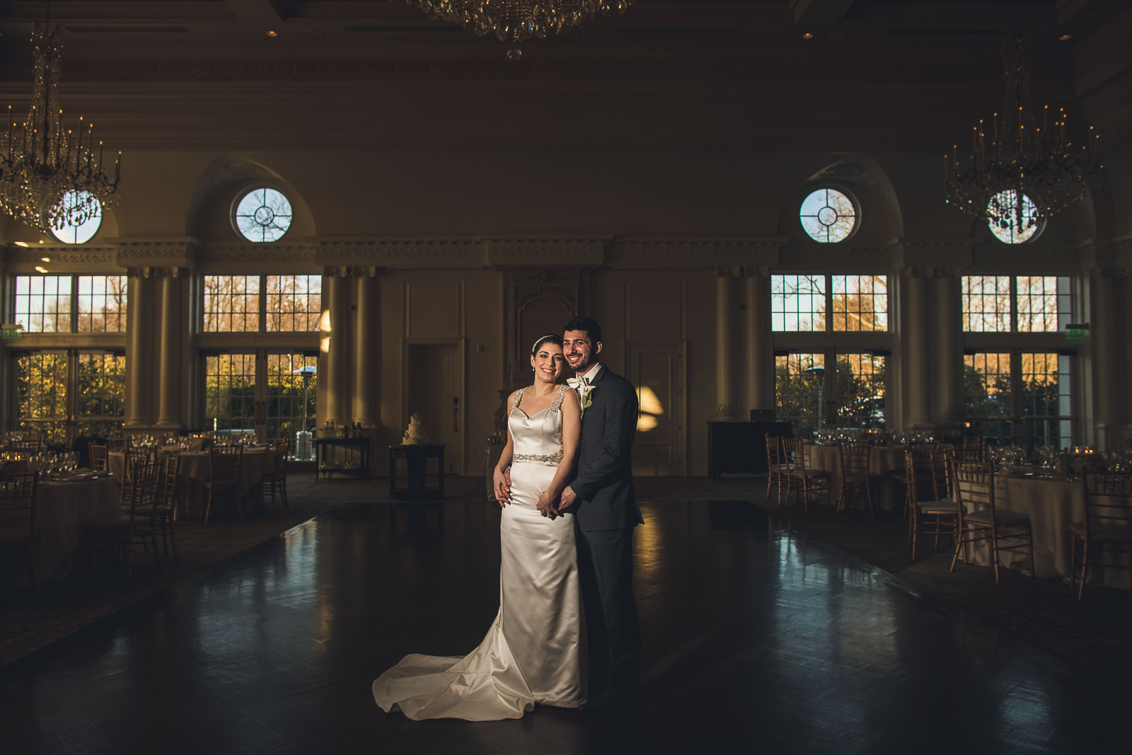 Park Chateau Wedding Reception Portrait