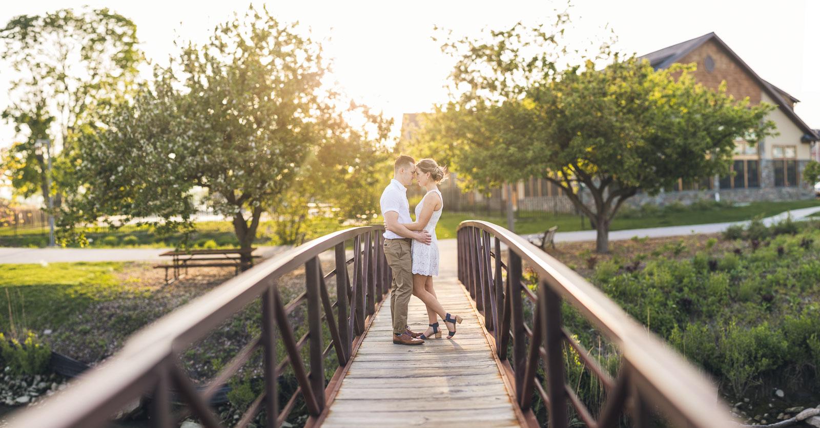 Tarrytown Engagement Photo