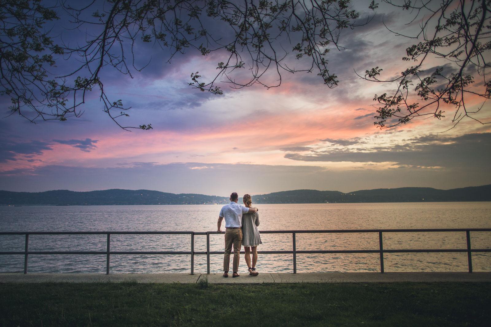 Sunset Tarrytown New York Photography