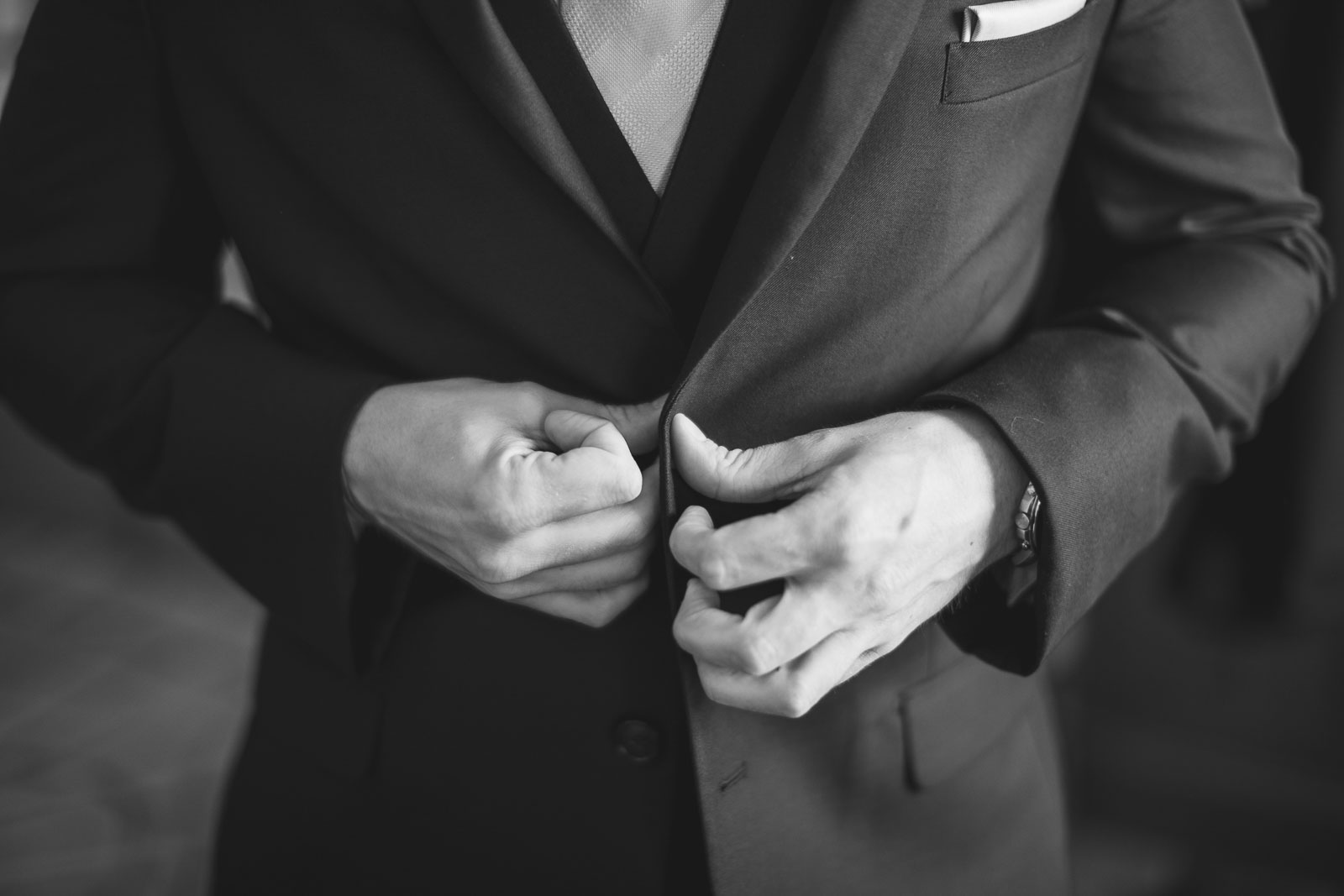 Groom buttons Jacket