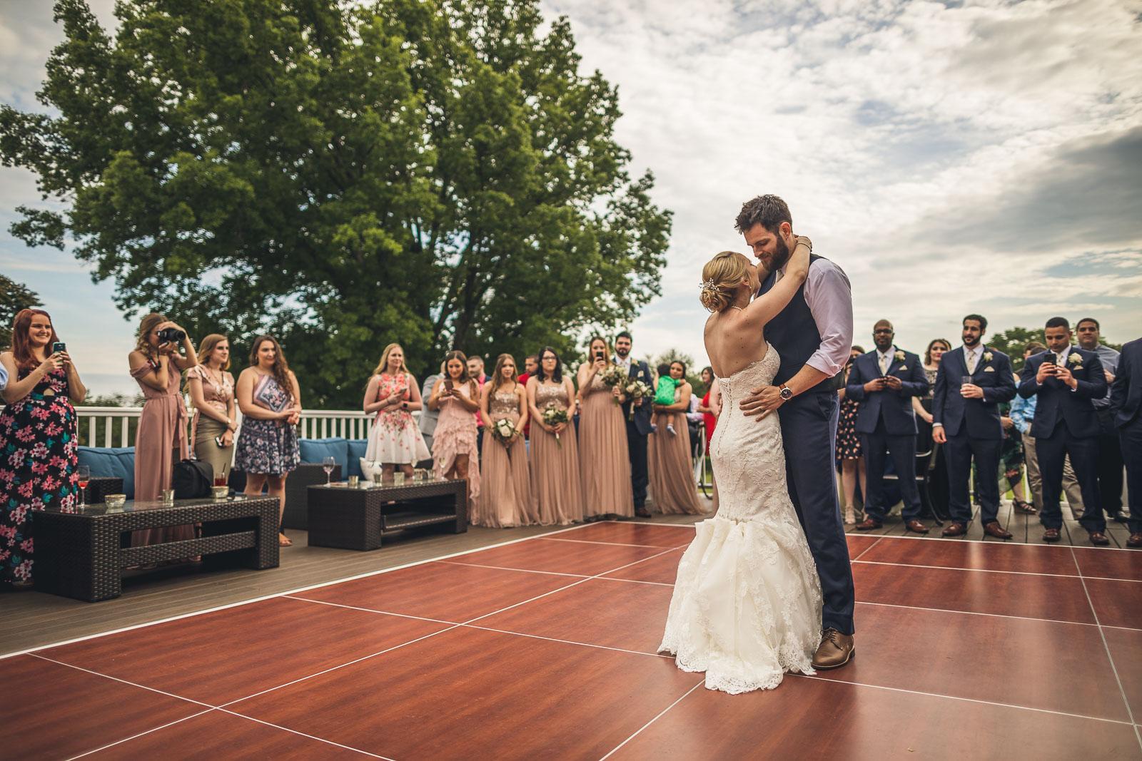 First Dance Glen Ridge Country Club Wedding