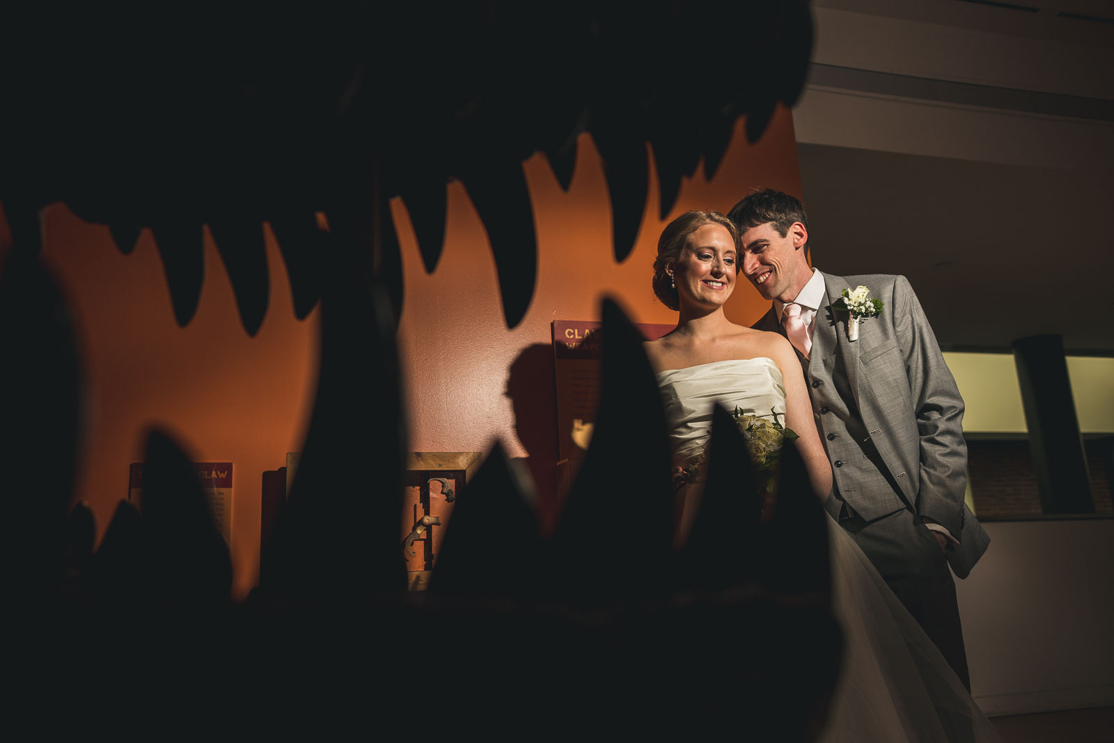 Morris Museum Creative Wedding Portrait