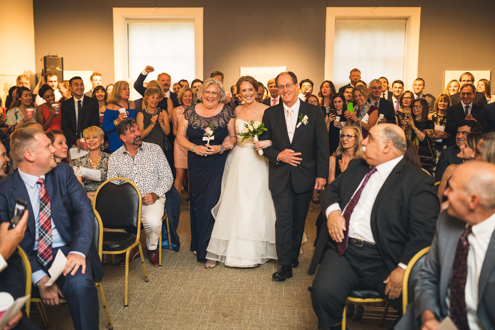 Morris Museum Wedding Ceremony